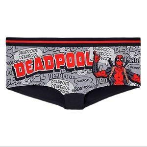 3/$25 Torrid Marvel Deadpool Boyshort Panty 2X